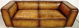 Sarreid leather sofa
