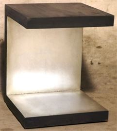 Guildmaster abstract side table