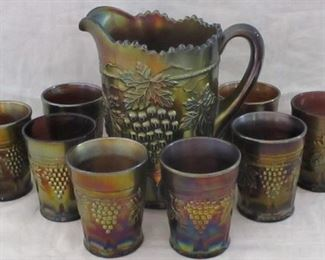 Northwood Grape & Cable carnival water set
