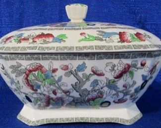 """Indian tree"" by Johnson Bros Tureen"