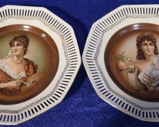 German Portrait plates