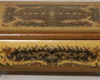 Inlaid music box