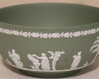 Green Wedgwood bowl