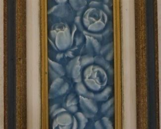 Glazed tile in frame