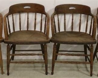 Vintage oak chairs