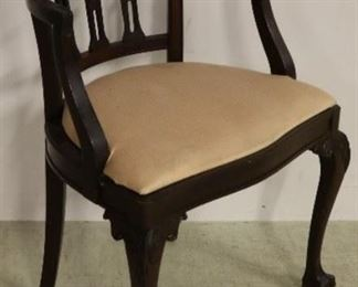 Chippendale vanity chair