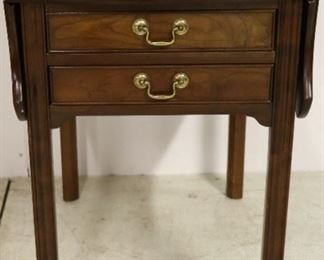 Stickley drop side table