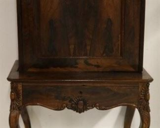 Antique fall front secretary