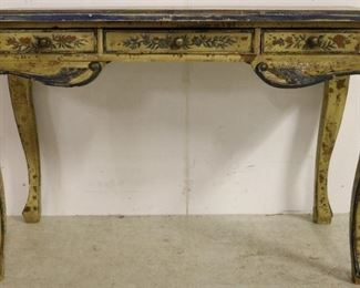 Italianate painted desk