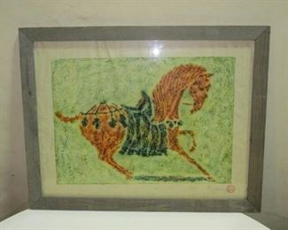 Tang horse watercolor