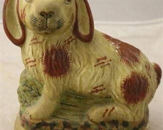 Staffordshire rabbit
