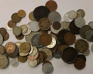 Mixed coins by the pound