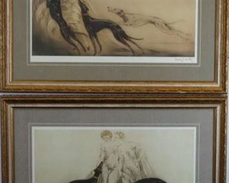 Coursing I&II by Louis Icart