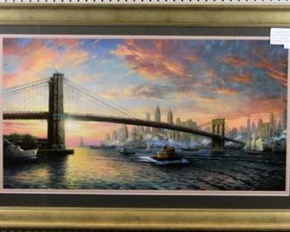 Spirit of New York Giclee by Thomas Kinkade