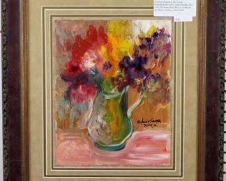 Original Floral painting by Anna Sandhu Ray