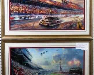 This is Talledega Giclee by Thomas Kinkade