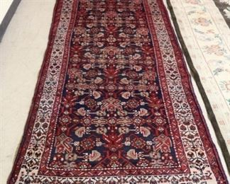 3.6 x 10 Antique Persian Runner