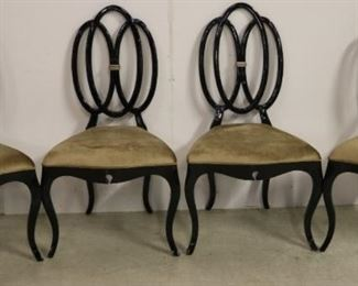 Set of chairs by Alden Parkes