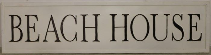 Beach House sign