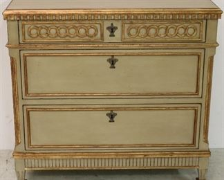 Painted Regency chest by Modern History