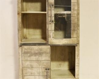 Iron Butterfly sliding door cabinet