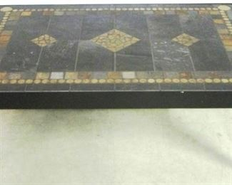Mosaic marble Alden Parkes table