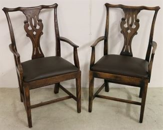Alden Parkes Manchester arm chairs