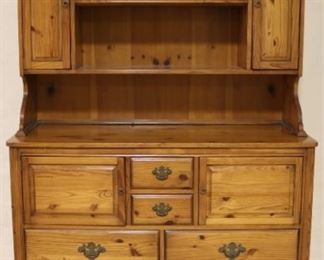 Pine hutch by J B VanSciver