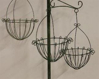 3 Basket hanging planter