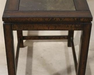 Marble inset table