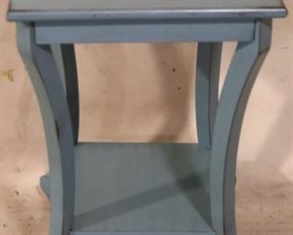 Teal painted table