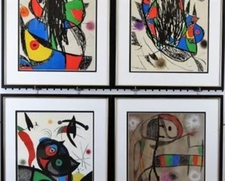 Contemporary by Joan Miro
