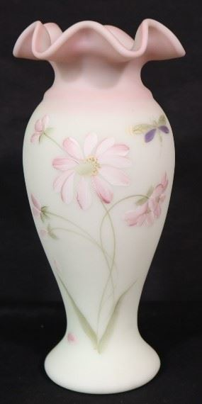 Daisy Butterfly on Lotus Mist Fenton
