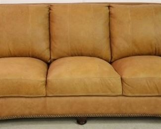 Leather Italia Hutton Sofa in Saddle