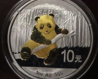 2014 China 1 oz silver proof