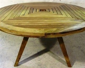 Guildmaster teak dining table