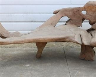 Teak Drift wood bench