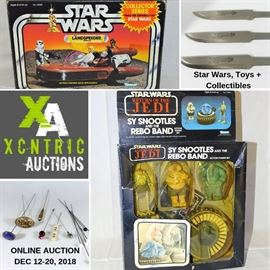 Star Wars, Toys + Collectibles Online Auction