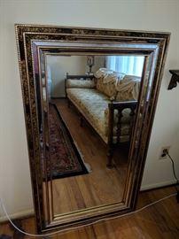 $100  Gold framed mirror