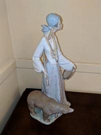 lladro gypsy woman