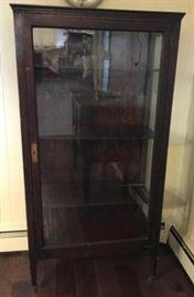 Antique Curio Cabinet