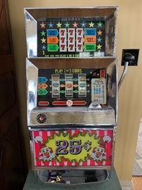 One of 5 slot machines!