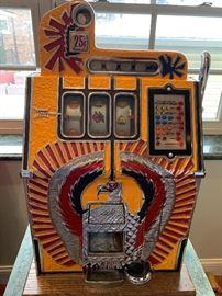 War Eagle reproduction slot machine