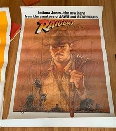 Large scale Raiders of the Lost Ark movie poster