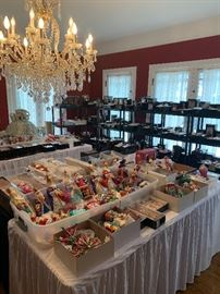 The Radko Ornament room. An entire room devoted to a huge collection of fine glass Christopher Radko ornaments.
