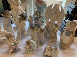 Lladro angel figurines