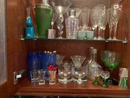 Tons of bar ware