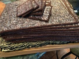 Fun and elegant placemats