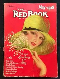"""The Red Book"" with Earl Christy Cover Artwork- May 1928"