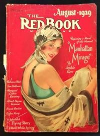 """The Red Book"" with Earl Christy Cover Artwork- August 1929"